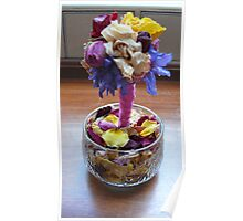 Dried Arrangement & Potpourri Poster