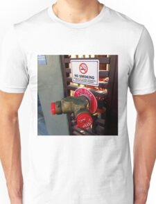 NO SMOKING AUTO SPKR - Tagged Unisex T-Shirt