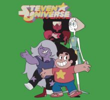 Steven universe and the gems One Piece - Short Sleeve
