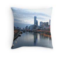 Yarra River Dusk Throw Pillow