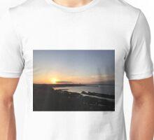 Sunset over St. Andrews, Scotland  Unisex T-Shirt