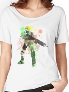 Master Chief, Halo Art Print Women's Relaxed Fit T-Shirt