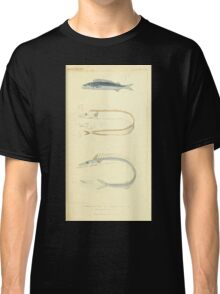 The Animal Kingdom by Georges Cuvier, PA Latreille, and Henry McMurtrie 1834  136 - Pisces Fish Classic T-Shirt