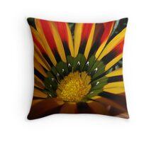 Flower Fire Throw Pillow