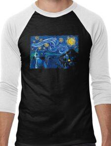 Starry Berk Men's Baseball ¾ T-Shirt