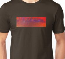 Abstract in Orange and Blue Unisex T-Shirt