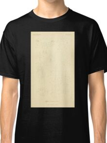 The Animal Kingdom by Georges Cuvier, PA Latreille, and Henry McMurtrie 1834  503 - Insecta Insects Classic T-Shirt