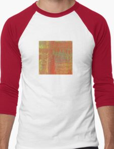 Orange and Gold Abstract T-Shirt
