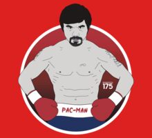 Manny Pacquiao - Red Gloves Kids Clothes