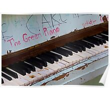 The Green Piano Poster