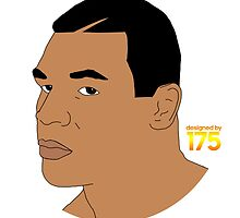 Mike Tyson - Digital Drawing by liam175