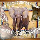 i love african art by Diane Giusa