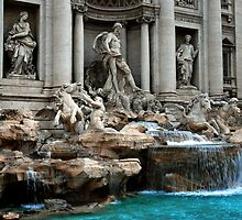 Trevi Fountain by Renee Hubbard Fine Art Photography
