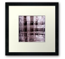 Criss Cross Framed Print