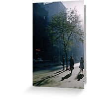 Early morning Collins Street 19570100 0000 Greeting Card