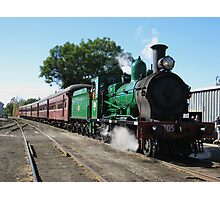 2705 Steam Train. Photographic Print