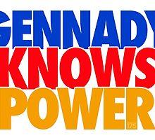Gennady Golovkin - Gennady Knows Power by liam175