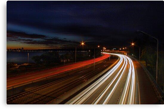 Kwinana Freeway - Western Australia  by EOS20