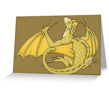 Protective Babies - Viserion Greeting Card