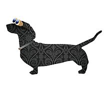 steampunk dachshund by tiffanyo