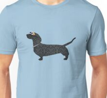 steampunk dachshund Unisex T-Shirt