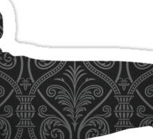 steampunk dachshund Sticker