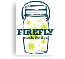 FIREFLY MUSIC FESTIVAL Canvas Print