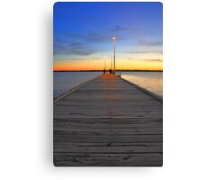 Como Jetty  Canvas Print