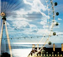 london eye moonlight by Sonia de Macedo-Stewart
