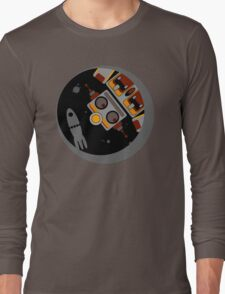Robot Lost In Space Long Sleeve T-Shirt