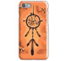 Catching Dreams (Orange) iPhone Case/Skin