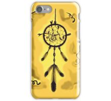 Catching Dreams (Yellow) iPhone Case/Skin