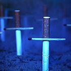 Cigarette Graveyard by Monique Basson
