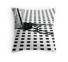Ice Cube Squared Throw Pillow