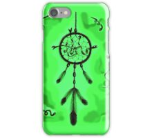 Catching Dreams (Green) iPhone Case/Skin
