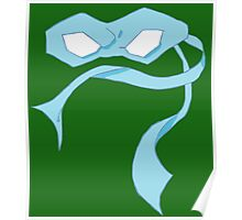 Leo Mask Poster