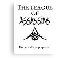 League of Assassins  Canvas Print