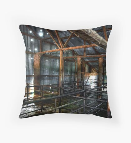 In the Sheds # 3 Throw Pillow