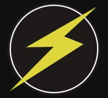 Awesome Lightning Bolt - Circle  Kids Clothes