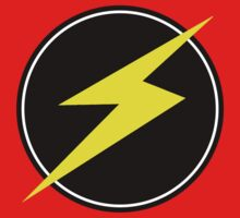 Awesome Lightning Bolt - Circle  by coolvintage