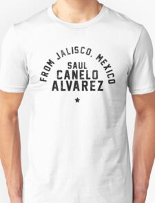 Saul 'Canelo' Alvarez - Letterpress T-Shirt