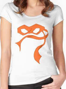 Mikey Mask Women's Fitted Scoop T-Shirt