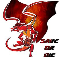 Save or Die - Red Dragon by Kaegro