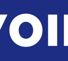 VOID - Parody Sticker