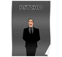 """American Psycho """"Bloody Bachelor""""  Poster"""