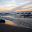 Lake Erie: Peaceful Sunset  by Rachel Counts