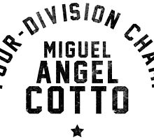 Miguel Cotto - Letterpress by liam175