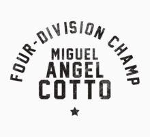 Miguel Cotto - Letterpress Kids Clothes