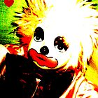 retro clown! by Christina Parapadakis
