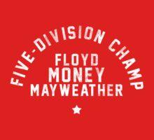 Floyd Mayweather - Letterpress Kids Clothes